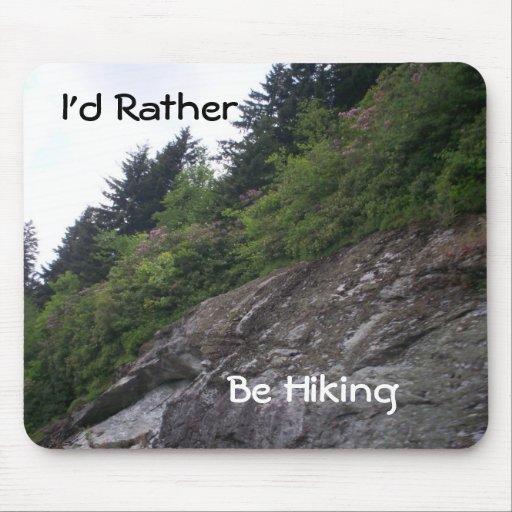 Rocas azules de la ruta verde de Ridge Alfombrillas De Ratón