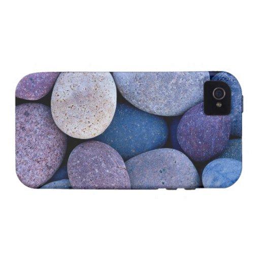 Rocas azules de piedra Case-Mate iPhone 4 funda