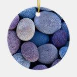 Rocas azules de piedra ornamentos de reyes