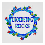 Rocas Crocheting Posters