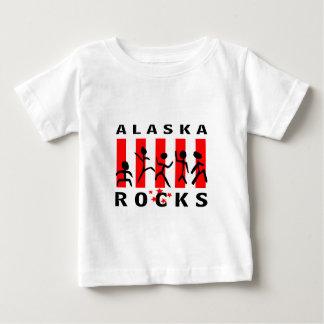Rocas de Alaska Playera De Bebé