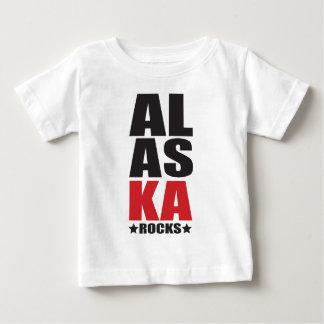 ¡Rocas de Alaska! Regalos y ropa del alcohol del Playera De Bebé