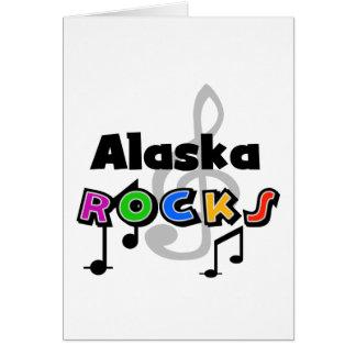 Rocas de Alaska Tarjeta De Felicitación