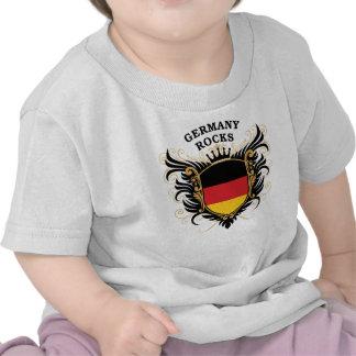 Rocas de Alemania Camisetas