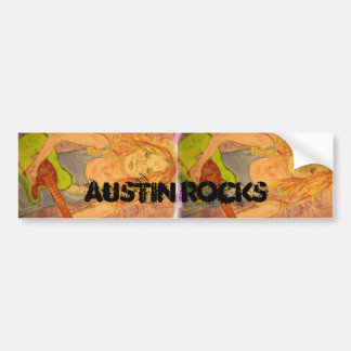 rocas de Austin Pegatina Para Auto