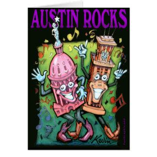 Rocas de Austin Tarjeta De Felicitación