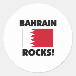 Rocas de Bahrein Etiquetas Redondas