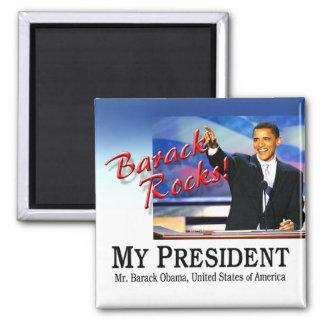 ¡Rocas de Barack! Imán
