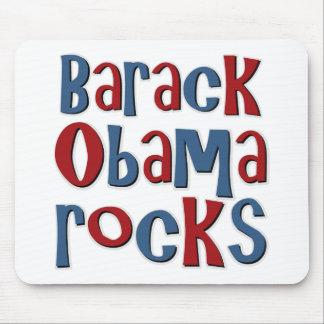 Rocas de Barack Obama Alfombrillas De Ratones