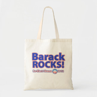 ¡ROCAS de Barack! Reelija a Obama 2012 Bolsas