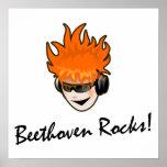 ¡Rocas de Beethoven! Impresiones