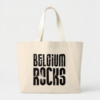 Rocas de Bélgica Bolsa Tela Grande