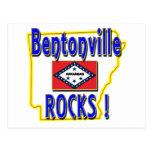 ¡Rocas de Bentonville! (azul) Tarjetas Postales