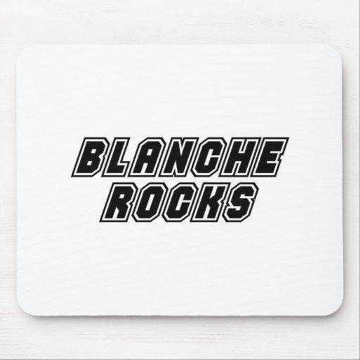 Rocas de Blanche Tapete De Ratón