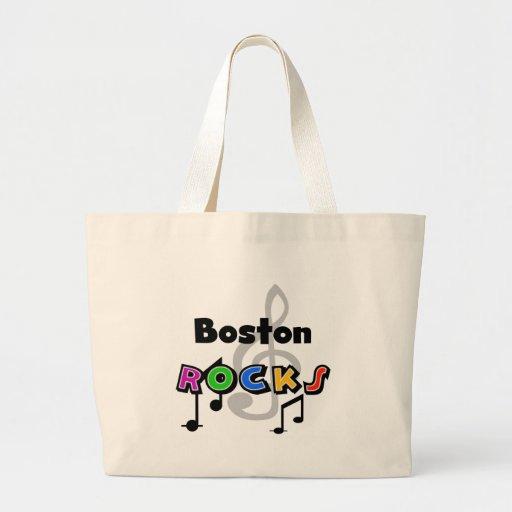 Rocas de Boston Bolsa Tela Grande