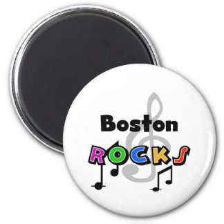 Rocas de Boston Imanes De Nevera