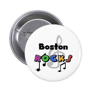 Rocas de Boston Pin Redondo 5 Cm