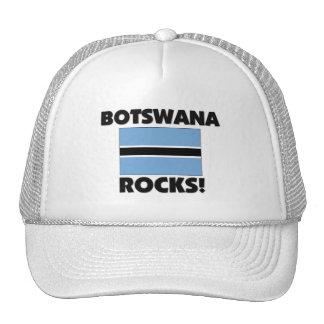 Rocas de Botswana Gorros Bordados
