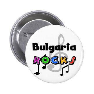 Rocas de Bulgaria Pin Redondo De 2 Pulgadas