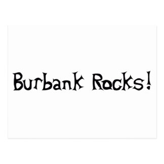 Rocas de Burbank Postal