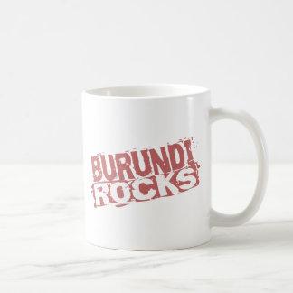 Rocas de Burundi Taza De Café