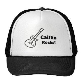 Rocas de Caitlin Gorras De Camionero