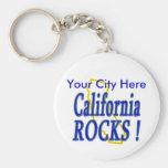¡Rocas de California! Llavero Personalizado
