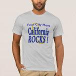 ¡Rocas de California! Playera