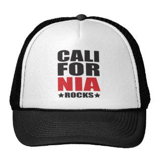 ¡Rocas de California! Regalos y ropa del alcohol d Gorras