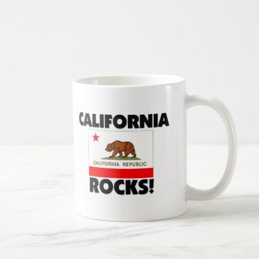 Rocas de California Taza De Café
