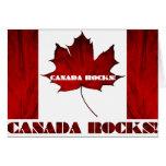 ¡Rocas de Canadá! Felicitacion
