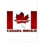 ¡Rocas de Canadá! Tarjetas Postales