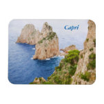 Rocas de Capri Faraglioni Imán Flexible