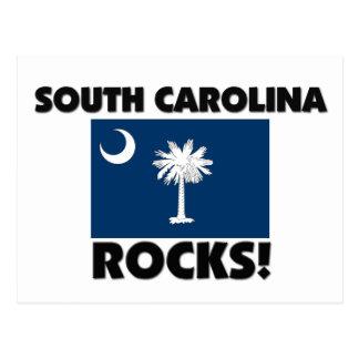 Rocas de Carolina del Sur Tarjetas Postales