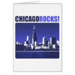 ¡Rocas de Chicago! Felicitacion