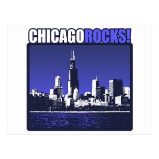 ¡Rocas de Chicago! Tarjetas Postales