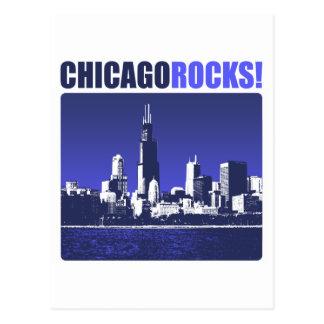 ¡Rocas de Chicago! Postales