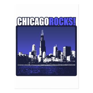 ¡Rocas de Chicago! Postal