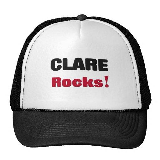 Rocas de Clare Gorros Bordados