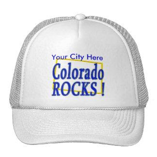 ¡Rocas de Colorado! Gorro De Camionero