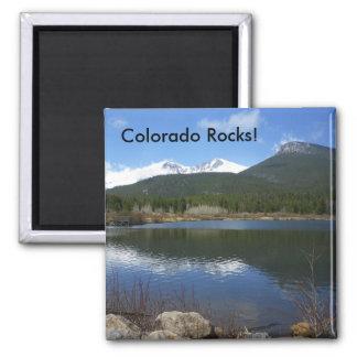 ¡Rocas de Colorado Imán