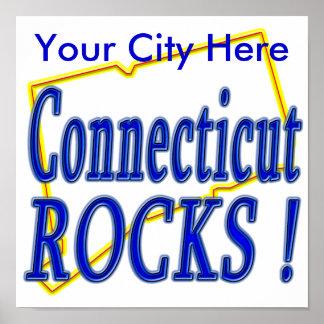 ¡Rocas de Connecticut! Poster