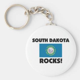 Rocas de Dakota del Sur Llaveros Personalizados