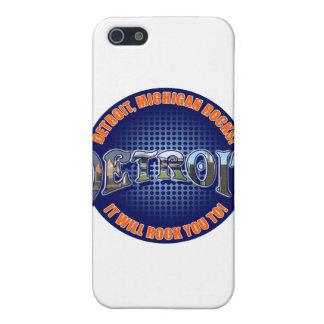 ¡Rocas de Detroit Michigan ¡Le oscilará a iPhone 5 Coberturas