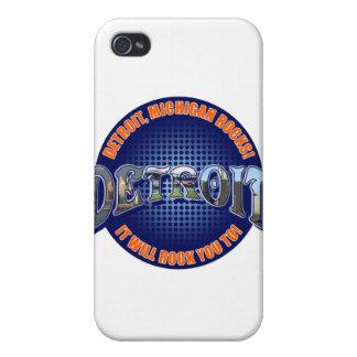 ¡Rocas de Detroit Michigan ¡Le oscilará a iPhone 4 Cobertura