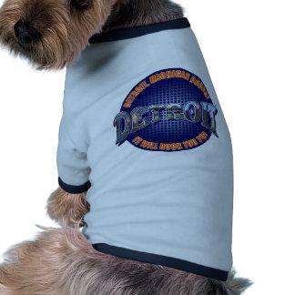 ¡Rocas de Detroit Michigan ¡Le oscilará a Camisa De Mascota