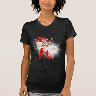 Rocas de dios - engranaje cristiano de la roca camiseta