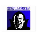 ¡Rocas de Drácula! Tarjeta Postal