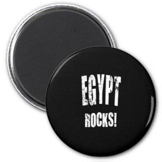 ¡Rocas de Egipto! Imanes De Nevera
