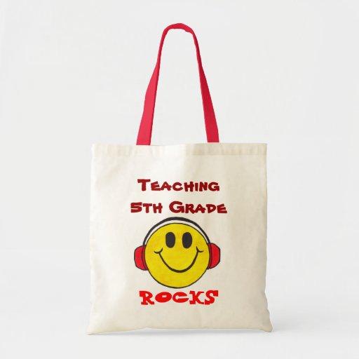 Rocas de enseñanza - tote adaptable bolsa de mano